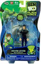 "Ben 10 Ten Kevin Levin figure 4"" inch 2009 Laser Lance & card Alien Collection"