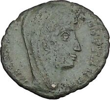 CONSTANTINE I the GREAT Heaven Chariot  Ancient Roman Coin Deification  i37496