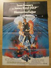 Filmposter * Kinoplakat * A1 - James Bond 007 - Diamantenfieber * EA * Fehldruck