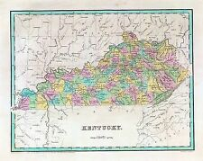 205 maps Kentucky state Panoramic genealogy lots old History Dvd