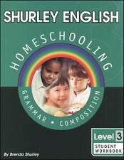 Shurley English Level 3 Workbook - New