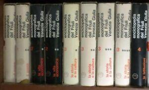 lx o2 - ENCICLOPEDIA MONOGRAFICA DEL FRIULI VENEZIA GIULIA - 11 volumi