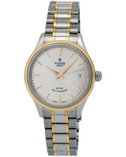 Tudor Style 34mm Steel/18K Yellow Gold Automatic Ladies Watch - 12303