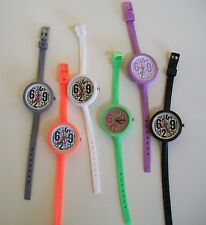 Girls,Boys cool colors silicone band fashion casual watches good for school fun