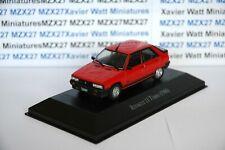 VOITURE Renault 11 TURBO rouge 1986 1/43 SALVAT Inolvidables 80/90