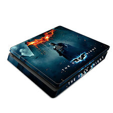 Skin Decal Cover Sticker for Sony PS4 Slim - Batman The Dark Knight Rises 1