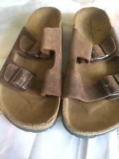 Mens american eagle sandals size 11 , all Leather upper , Brand New
