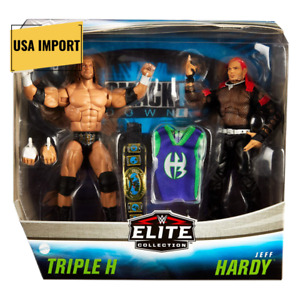 Triple H vs Jeff Hardy WWE Elite Series Twin Pack Figures