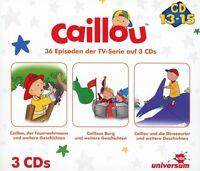 CAILLOU - CAILLOU HÖRSPIELBOX 5 (CD 13-15)  3 CD NEU