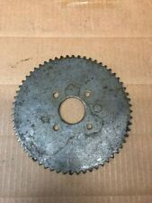 60 Tooth #35 Chain Steel Sprocket