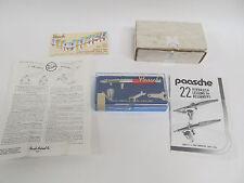 PAASCHE AIRBRUSH TYPE VL #3 IN ORIGINAL CASE w/ PAPERWORK