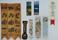 10 x Vintage Collectable Assortment of Bookmarks Souvenirs - (B62c)