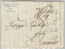 LOMBARDO VENETO - PRECURSORI busta prefilatelica da VENEZIA 1813 Volmeier # 23