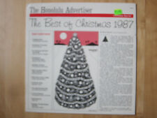Honolulu Advertiser, Best of Christmas 1987. Vinyl LP. Ohta-san, Makaha Sons