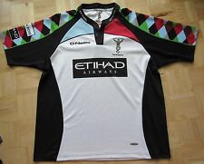 HARLEQUIN London Quins RUGBY UNION away shirt jersey O'Neills adult  SIZE /XXL
