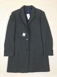 Roy Robson - Charcoal Overcoat - 55/UK44 - *NEW WITH TAGS* RRP £245