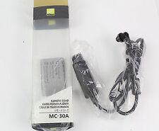 NEW Nikon MC-30A Timer Remote ControllerD810 D810E D800E D700 D500 D300S D5 D4S