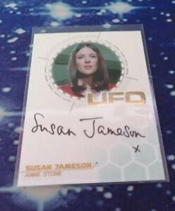 UFO Series 3 Trading Cards: Susan Jameson Gold Foil Autograph Card SJ1