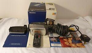 Sony Handycam DCR-HC35E Mini DV Camcorder Video Camera Boxed