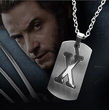 X-man Wolverine Necklace Form movie Necklace Pendant