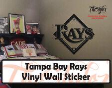 Tampa Bay Rays Baseball Vinyl Wall Sticker