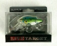 LiveTarget Lure MNSR14MD851 BaitBall Medium Spinner Rig Pearl//Silver Fishing