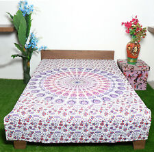Cotton Twin Size Hippie Mandala Tapestry Printed Wall hanging Beach Yoga Throw