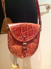 Vintage Mulberry Saddle Bag Warm Brown
