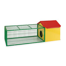 Flyline Rabbit Guinea Pig House Cage Hutch Run Pen Large