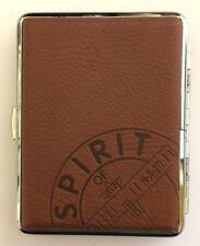 Spirit of St. Louis Luftfahrt-Design | Zigarettenetui | Braun | Geschenkidee