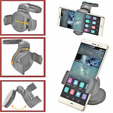 Car Phone Holder 360° Windscreen Mount Holder Cradle For iPhone 6S,6S Plus,5S,5C