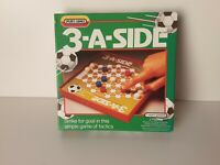 """Vintage """"3-A-Side"""" board game by Spears Games 1989 (350)"""