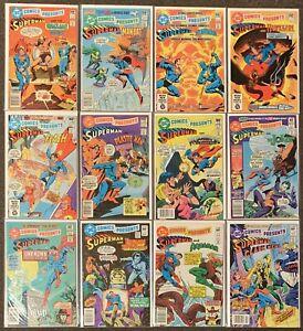 DC Comics Presents Superman & #34,35,36,37,38,39,40,41,42,43,48,50 Flash Aquaman