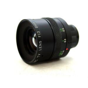Ernitec TV Lens F1.3 8mm & Warranty