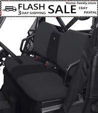 Utv Bench Seat Cover For Polaris Ranger 800 900 Xp Black 2015 Models or Before