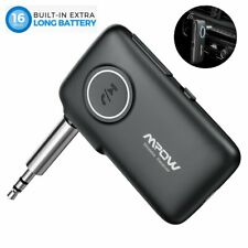 Mpow Wireless Bluetooth 5.0 3.5mm Audio Stereo Music Car Receiver Adapter Kits