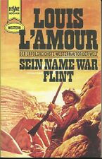LOUIS L´AMOUR - Sein Name war FLINT - Heyne Western