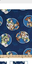 Toy Story Fabric by fat quarter , half yard , yard continuous piece