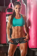 """040 Michelle Lewin - Sexy Model Bodybuilder Fitness Girl 14""""x21"""" Poster"""