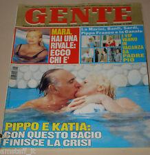 GENTE=1997/34=KATIA RICCIARELLI=NAOMI CAMPBELL=LIZA MINELLI=VALERIA MAZZA EVITA=