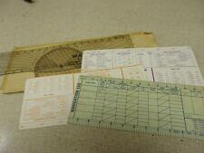 Warner Plotter Statue Miles Scales Vintage Flight Plan *Free Shipping*