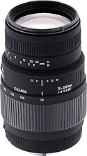Canon EF Sigma f/5 Telephoto Camera Lenses