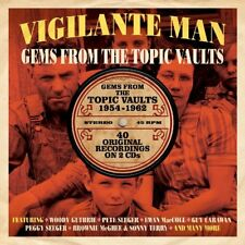 Vigilante Man - Gems From The Topic Vaults 1954-1962 2CD NEW/SEALED