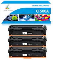 3PK Toner Compatible for HP 202A CF500A LaserJet Pro M254dw M254dn MFP M281fdw