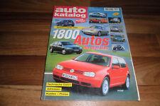 AUTO KATALOG 1998 -- 1800 Modelle aus aller Welt / Betriebskosten - Preise-Daten