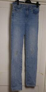 Levi's Premium Womens Denim Jeans 724 High Rise Straight 29 Long