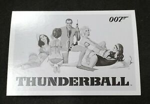 2014 James Bond Archives Thunderball Throwback  #s 1 - 99 You Pick Your Cards