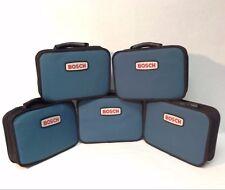 """5 x Bosch NEW 12V tool case tote zipper bag 12"""" x 9"""" x 3"""""""