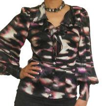 Camisas y tops de mujer de color principal negro de seda talla 36