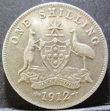 1912 Australia One Shilling #PW1707-14